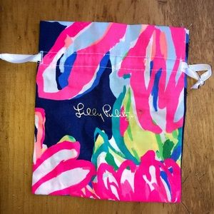 Lilly Pulitzer Patterned Jewelry Pouch New